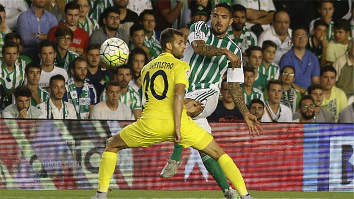Daftar SBOBET Villarreal VS Real Betis
